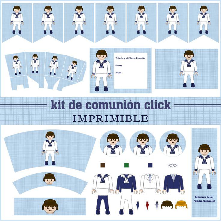 Ver producto: Kit de comunión click niño