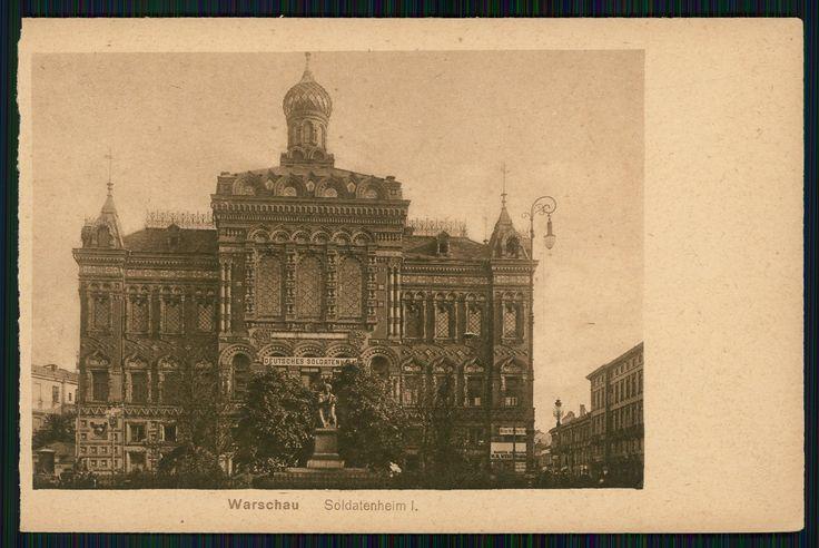Warszawa przedwojenna - pałac Staszica