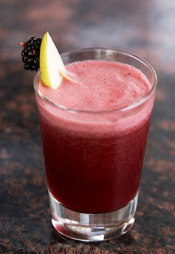 Blackberry, Pear, and Grapefruit