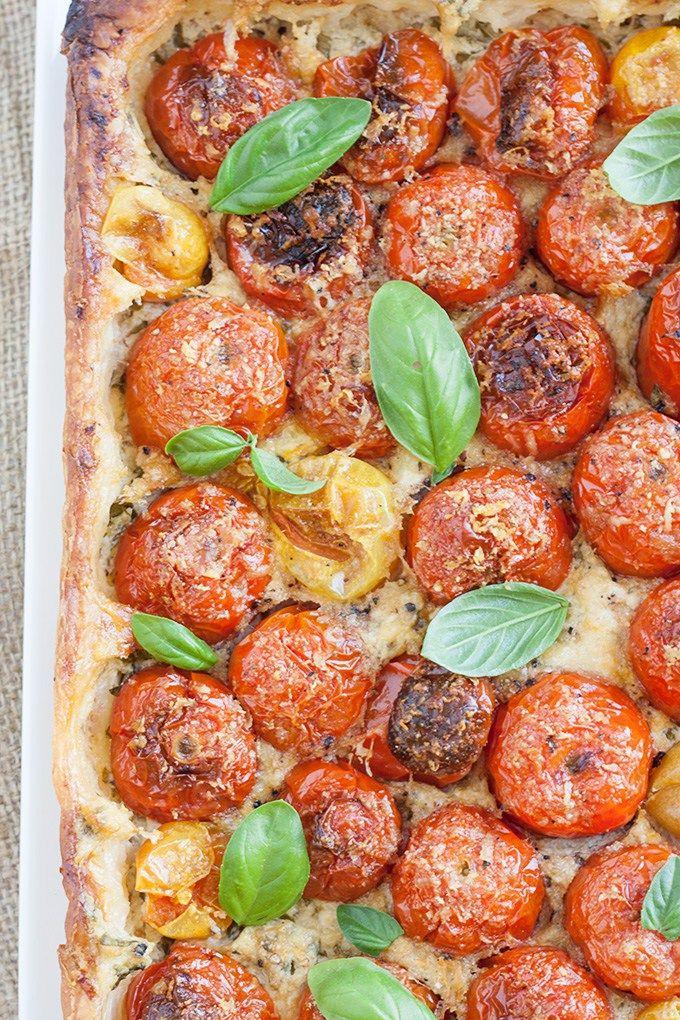 Italienisch Kochen | Während der Tomaten-Saison, der beste Tomatenkuchen überhaupt! #italienischkochen