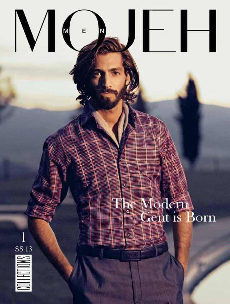Maximiliano Patane MOJEH MEN March 2013 Magazine Cover