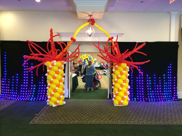 54 best images about balloon d cor classes events on for Balloon decoration courses