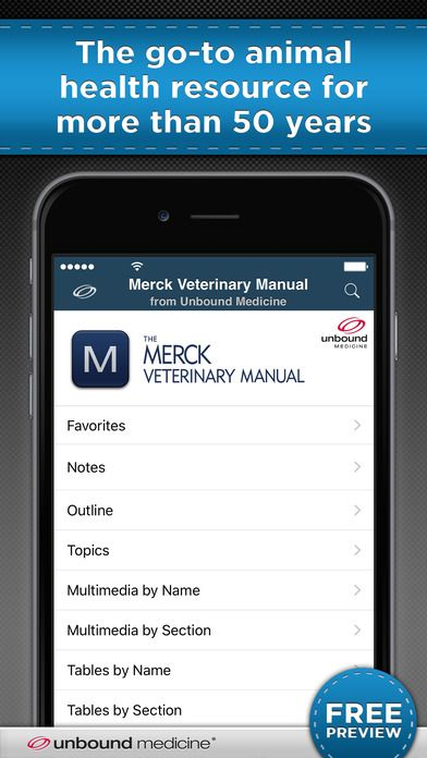 Merck Veterinary Manual by Unbound Medicine, Inc.