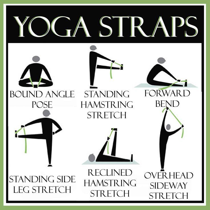 yoga + strap = s-t-r-e-t-c-h