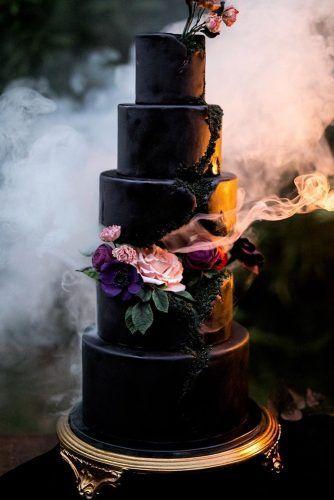 30 black and white wedding cakes ideas   tortas/pasteles   pinterest