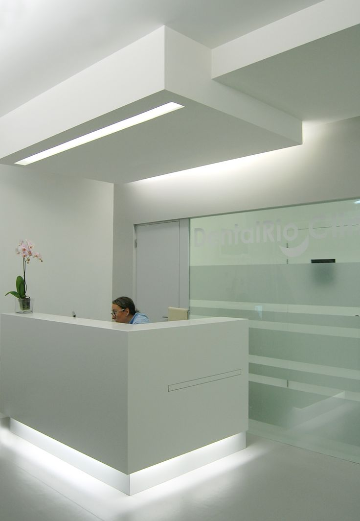 Dental Office, Amarante, Portugal. Front desk.