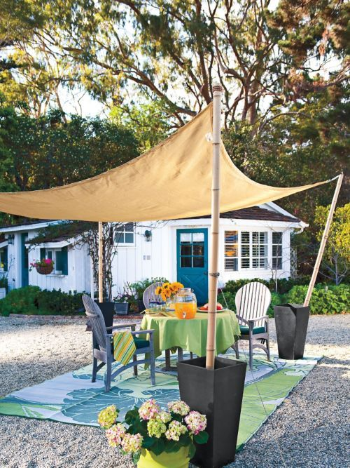 Coolaroo Shade Sail - Patio Shades - Outdoor Shade Triangle | Solutions