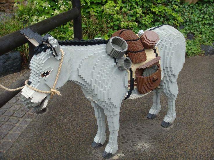 Donkey Legos