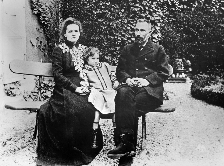 Piotr Curie i Maria Skłodowska-Curie