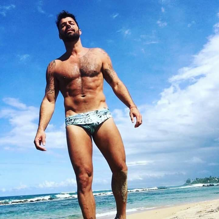 Ricky Martin takes a day off