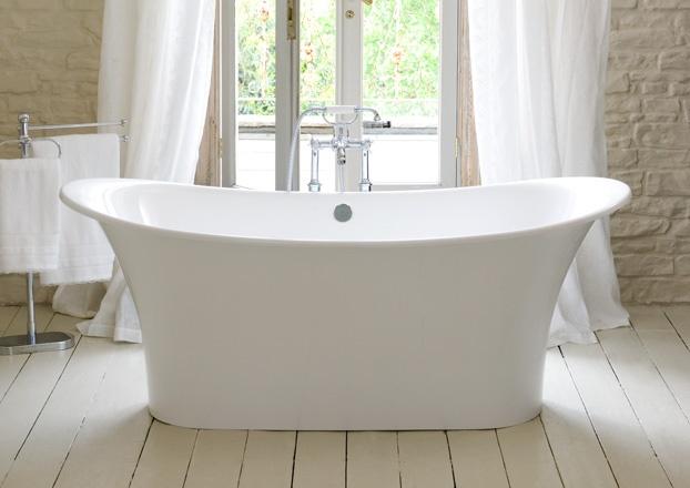 Victoria & Albert tub for the new master bath .. will I ever leave it?