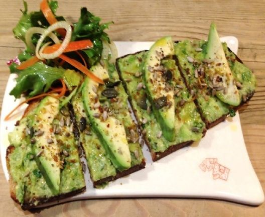 Avocado Toast at Le Pain Quotidien. Seriously delicious!