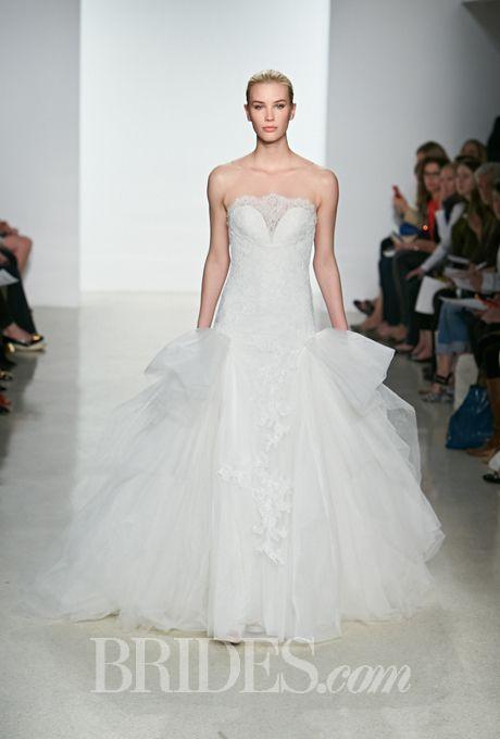 Kenneth Pool Wedding Dresses Spring 2015 Bridal Runway Shows   Wedding Dresses Style   Brides.com