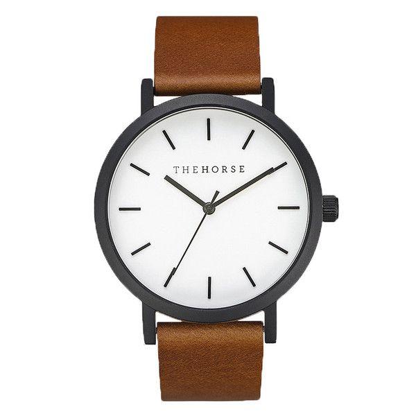 Horse Watch | Rose Gold/Black | Free Shipping NZ & AUS