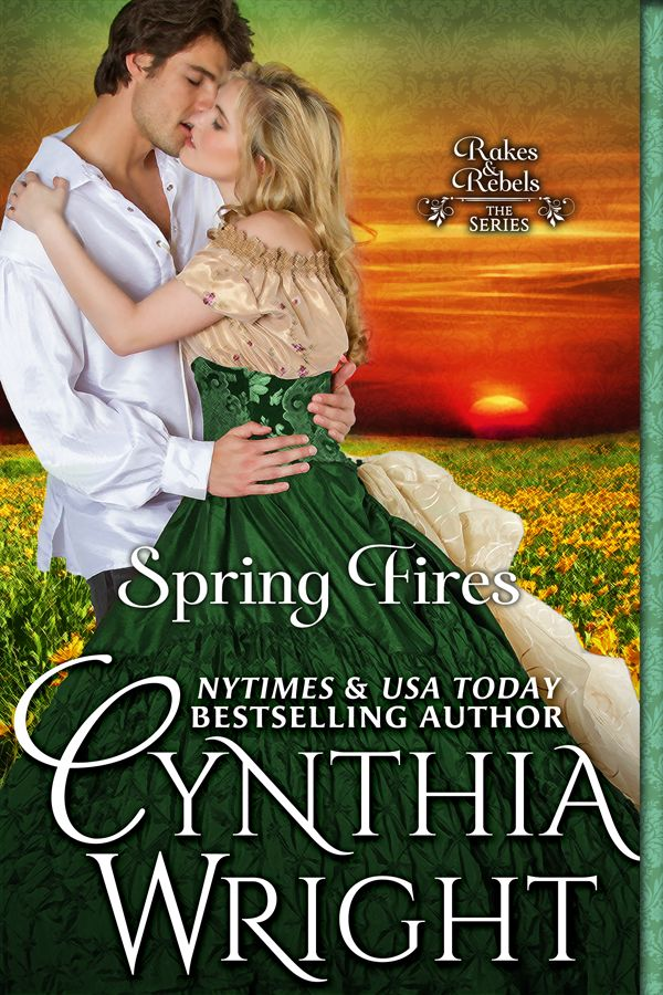 Set in 1793 Philadelphia, SPRING FIRES is the captivating tale of an independent woman and an irresistible rogue for whom love is the ultimate challenge!  Beloved characters from CAROLINE, TOUCH THE SUN, and SILVER STORM return as supporting characters in this sensuous, enchanting story.