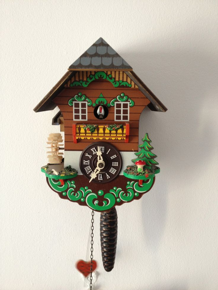 120 best images about and the time is on pinterest radios vintage and clock - Funky cuckoo clock ...