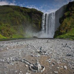 Skogafoss in IJsland