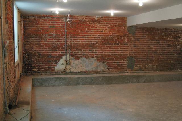 low ledge basement benched foundation pinterest