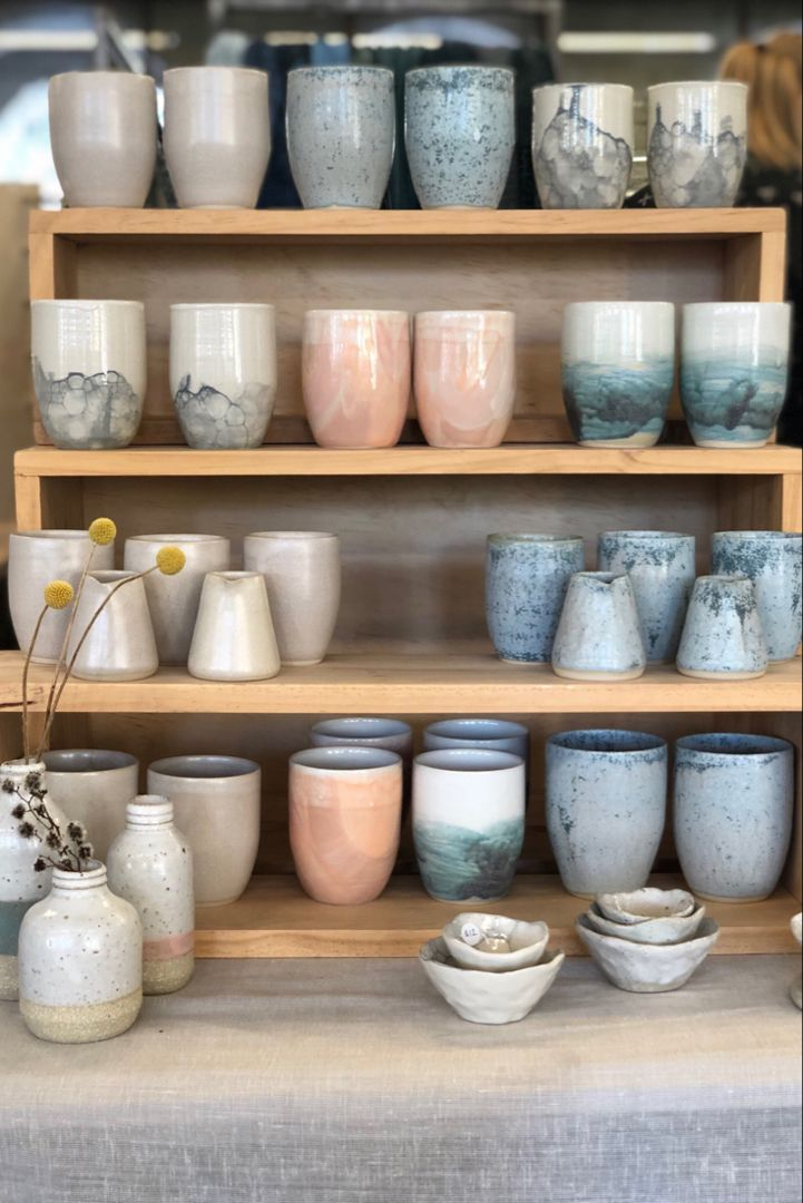 Handmade ceramic pottery range made in perth ceramics
