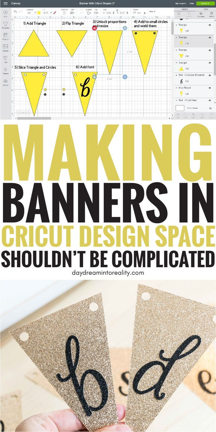Make Stunning Banners With Your Cricut Free Svg Templates Cricut Banner Cricut Free Cricut