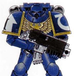 Space Marine - Full Armor Pepakura File on Onekura. Make your own costumes and accessories.