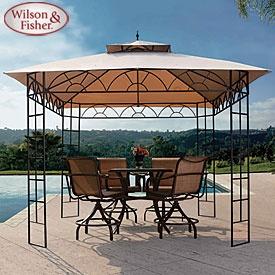 Wilson & Fisher® 10' x 10' Belvedere Gazebo
