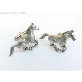 Galloping Horse Cufflinks