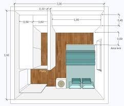 Resultado de imagen para quartos pequenos de casal 3x3