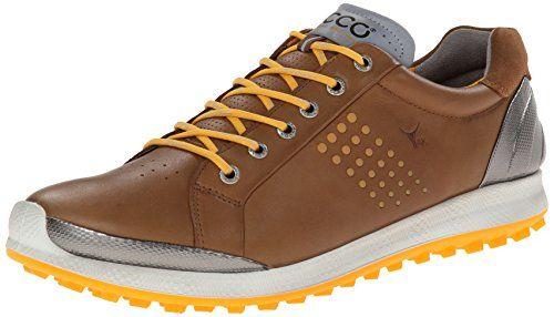 ECCO BIOM HYBRID 2 HERREN GOLFSCHUHE CAMEL/FANTA Schuhgröße: 43 - http://on-line-kaufen.de/ecco/43-ecco-mens-golf-biom-hybrid-2-herren-golfschuhe