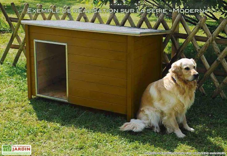 abri pour animaux, niche à chien, niche a chien moderne, niche a chien en bois