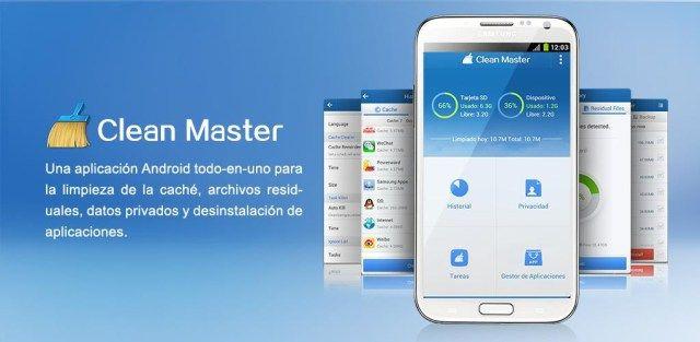 Clean Master (Boost y AppLock) v5.14.2 build 51426832