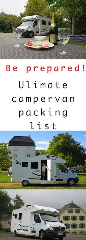 This essential packing list for campervan hire will make sure that all the little things are taken care of. Buy now to ensure you have them ready! Campervan packing list  Campervan essentials   Campervan essentials list   Motorhome packing list   What to take in a campervan   Campervan equipment list #campervans #packing #motorhomes