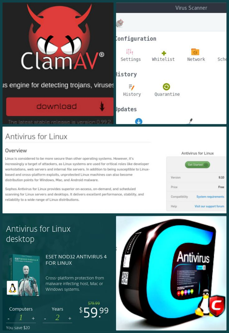 Top 5 Free Open Source AntiVirus Software for PC