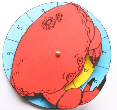 Le jeu du crabe (mimer les animaux de la mer) - tomlitoo
