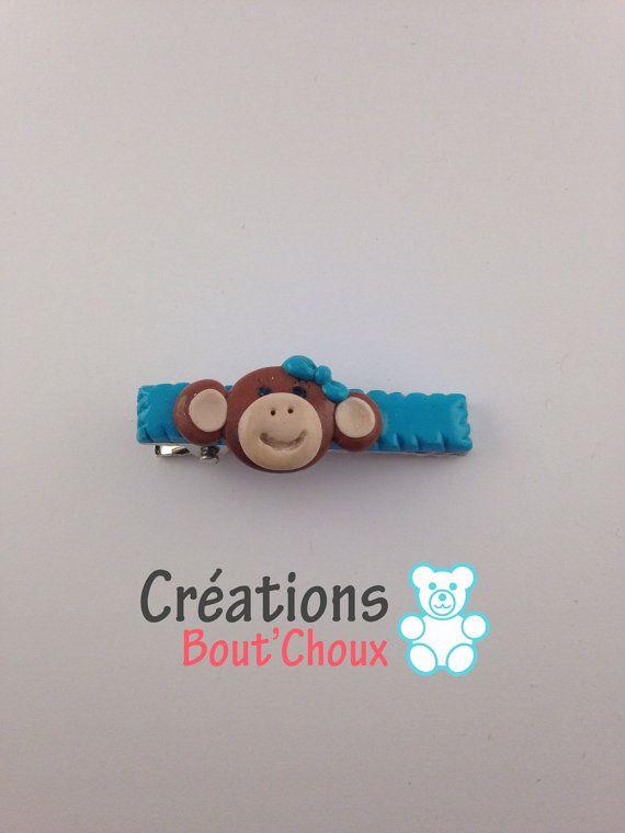 Petites barrettes en métal crocodile par Creationsboutchoux1
