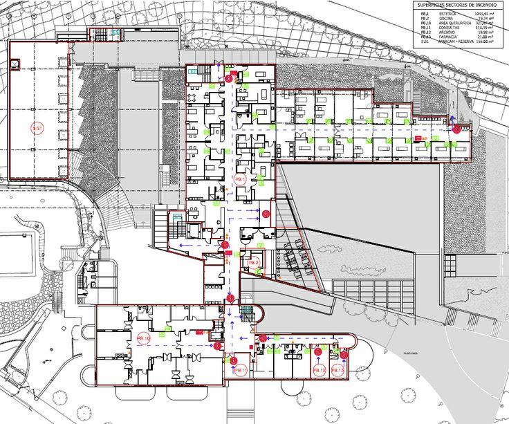Cl Nica Planas Planta Tags Arquitectura Hospitales