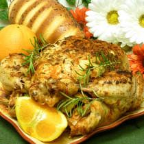 Orange Rosemary Chicken Recipe: one for cooking in the Ninja 3-1, and one for cooking in the oven