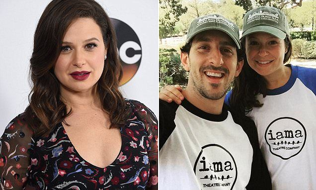 Scandal actress Katie Lowes reveals agony over psoriasis | Daily Mail Online