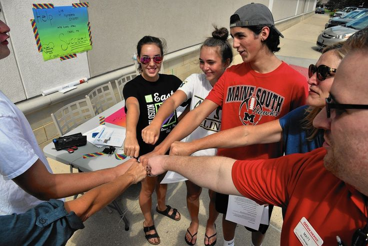 Area high school students pack school supplies in Niles for homeless kids