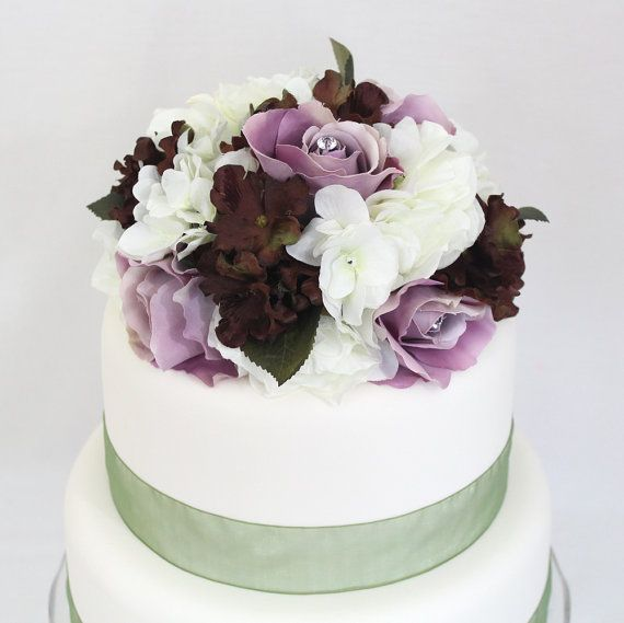 Silk Flower Wedding Cake Toppers: Top 25 Ideas About It Tops The Cake Silk Floral Wedding
