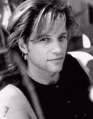 Jon Bon Jovi..My high school hero! The good old days, the legendary haircut and the ladies heart-breaker face! Aha!