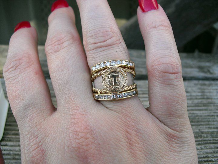 My custom Tarleton State University class ring from Swindle Jewelers in Stephenville, TX @Tarleton State