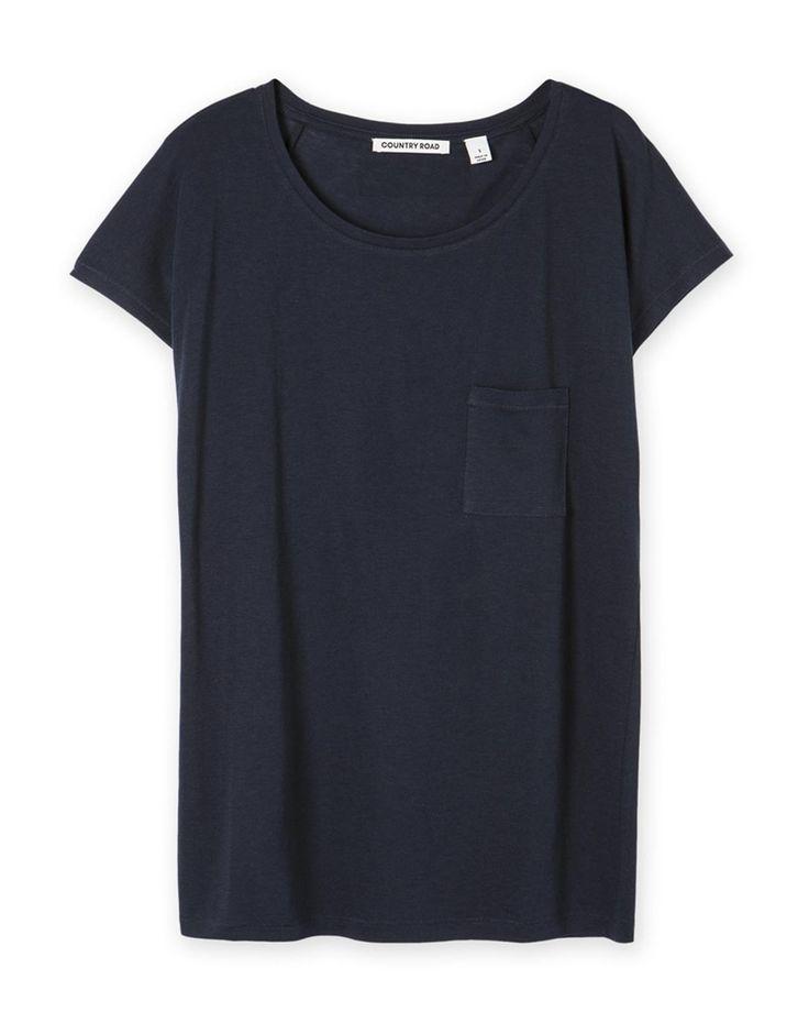 Slouchy Pocket T-Shirt