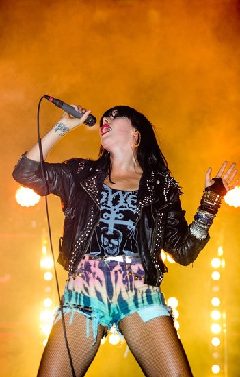 Alexis Krauss of Sleigh Bells. The Most Fashionable Female Musicians Making Music Right Now.