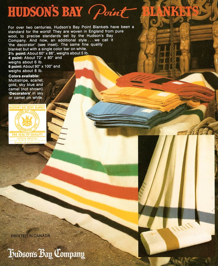 Vintage Hudson's Bay Ad found in our archives @Faith Hudson's Bay