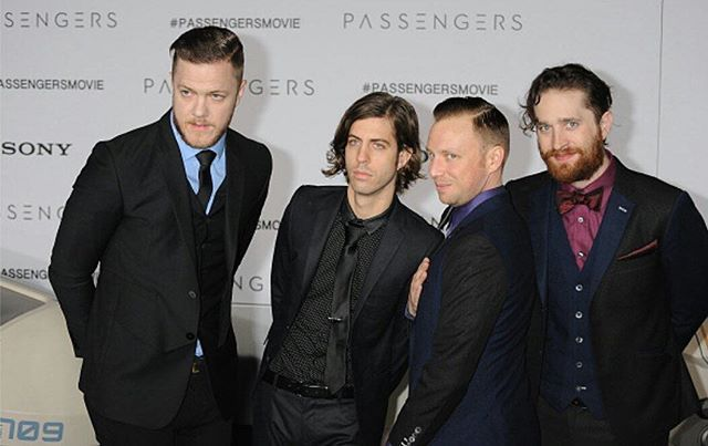 Imagine Dragons at the Passengers Movie Premiere in Los Angles, December 14. : Gregg DeGuire #imaginedragons