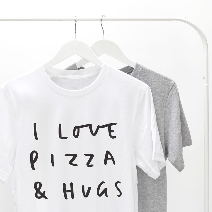 Pizza and hugs are the best way to spend a Friday night!