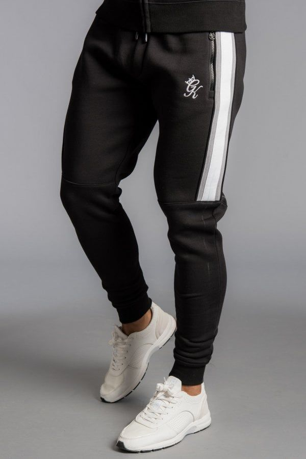 top design Sales promotion low priced Gym King Crea Tracksuit Bottoms - Snow Marl/Black | moi in ...