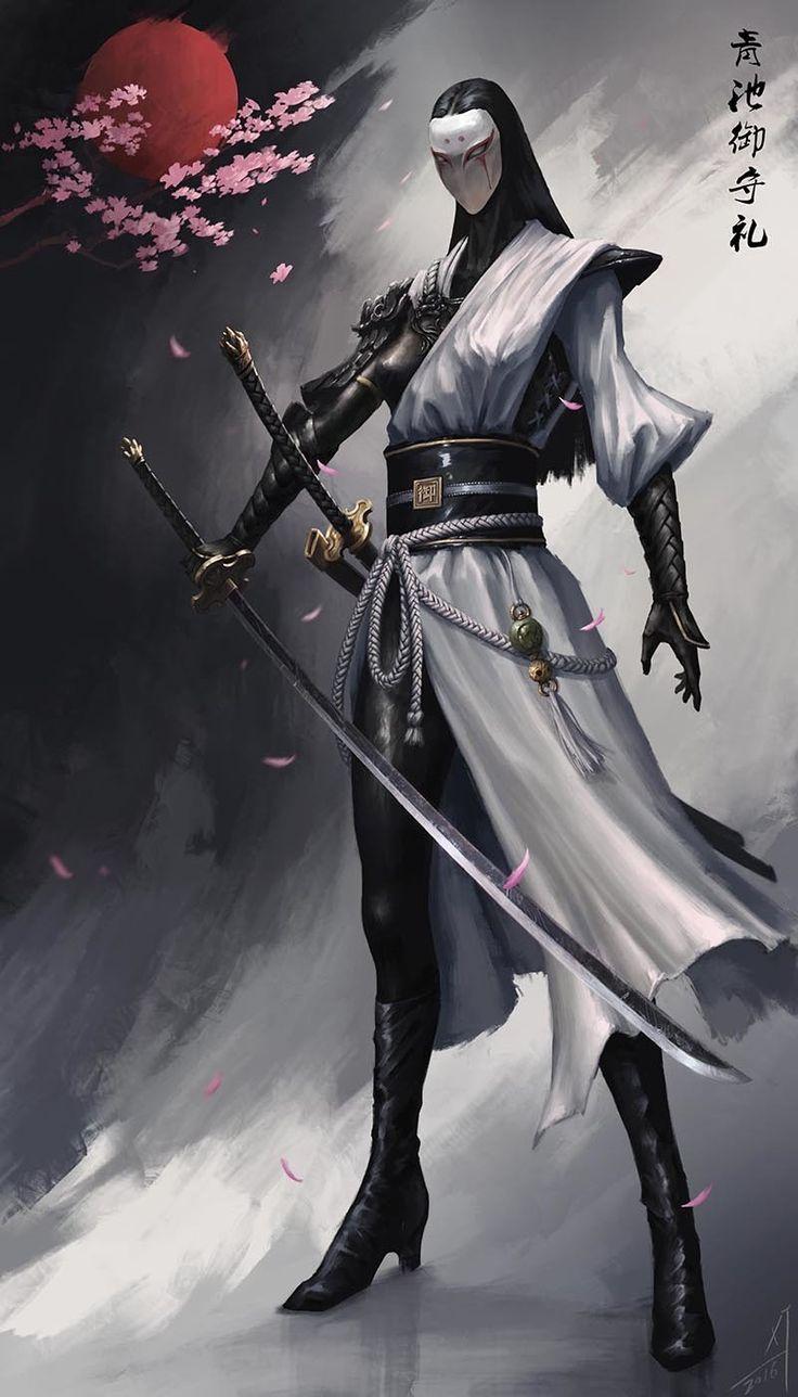 ArtStation Superb martial arts of the Ninja, Carter