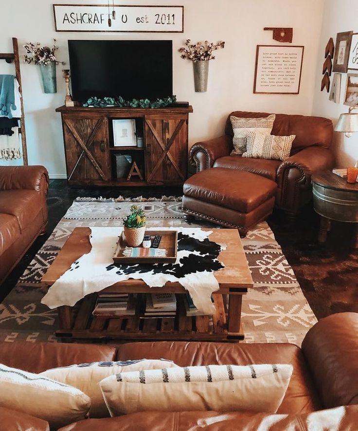 Loving This Living Room Set Up Western Living Room Decor Western Living Rooms Farm House Living Room